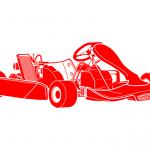 Go Karting, Go Kart Track Icon