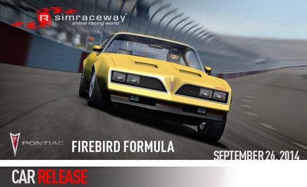 New Sim Car: Pontiac Firebird Formula • Simraceway