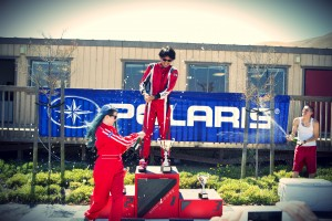 Go Kart Racing Series Champion Picture
