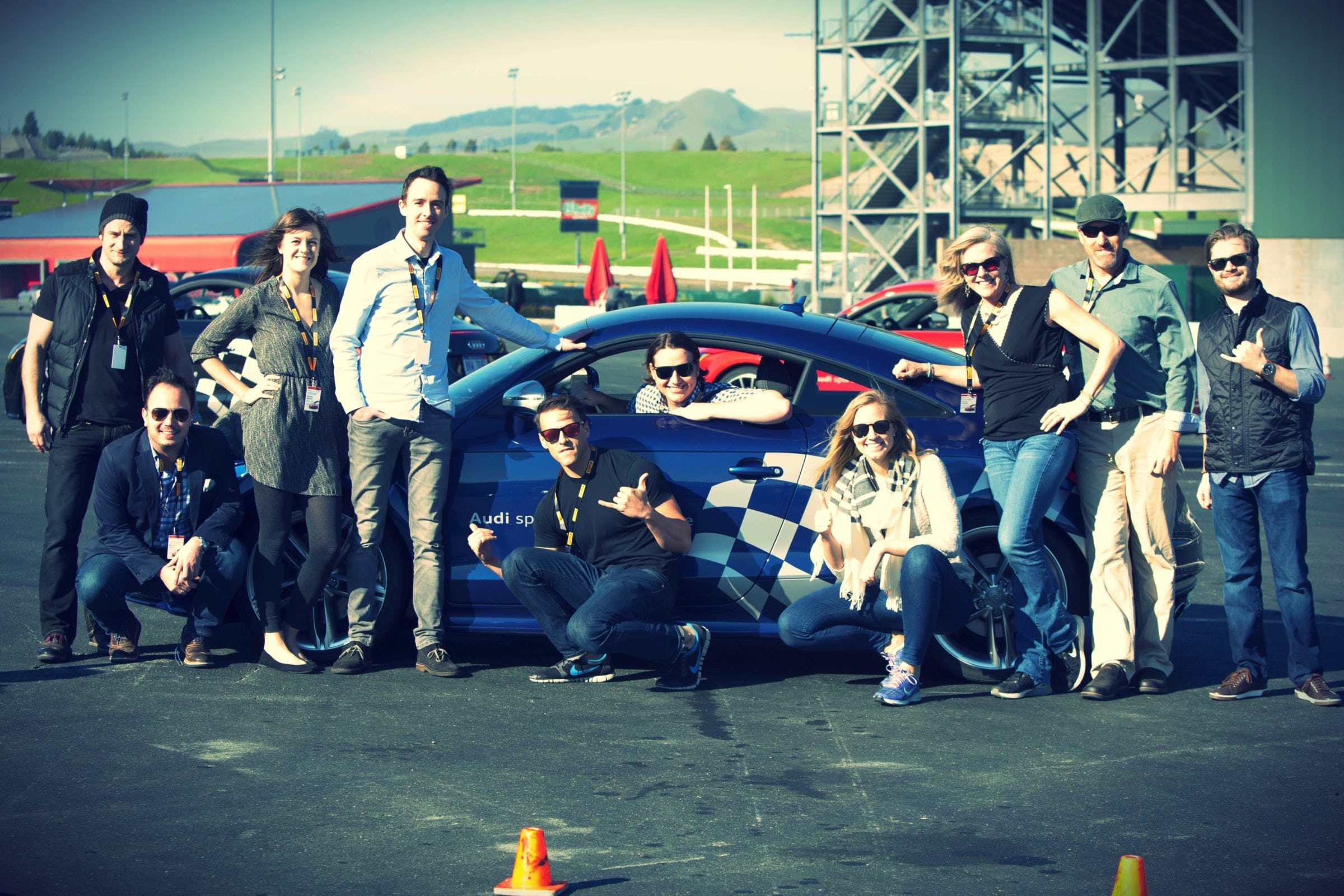 Audi sportscar experience Helping Bay Area Leaders Accelerating