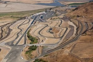 Aerial view of Sonoma Raceway