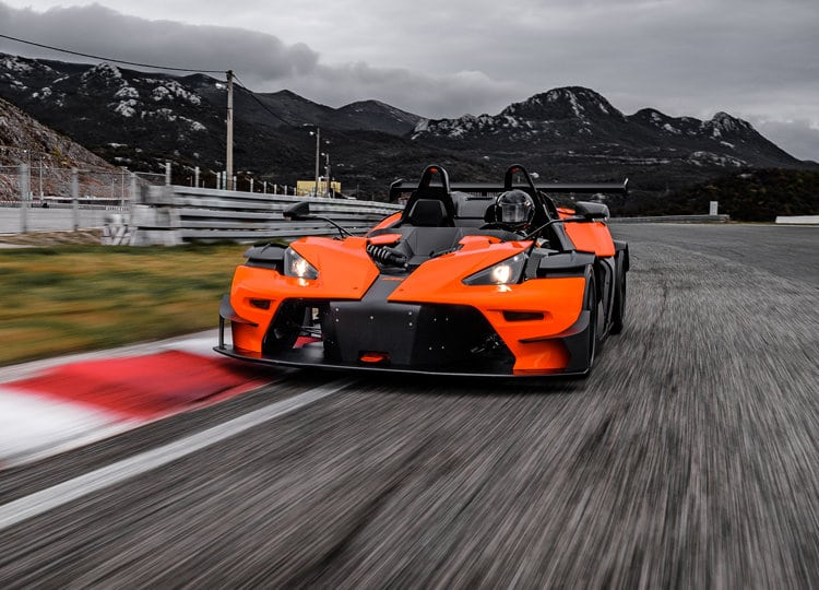 KTM X-BOW Sports Car Driving Experience Advanced