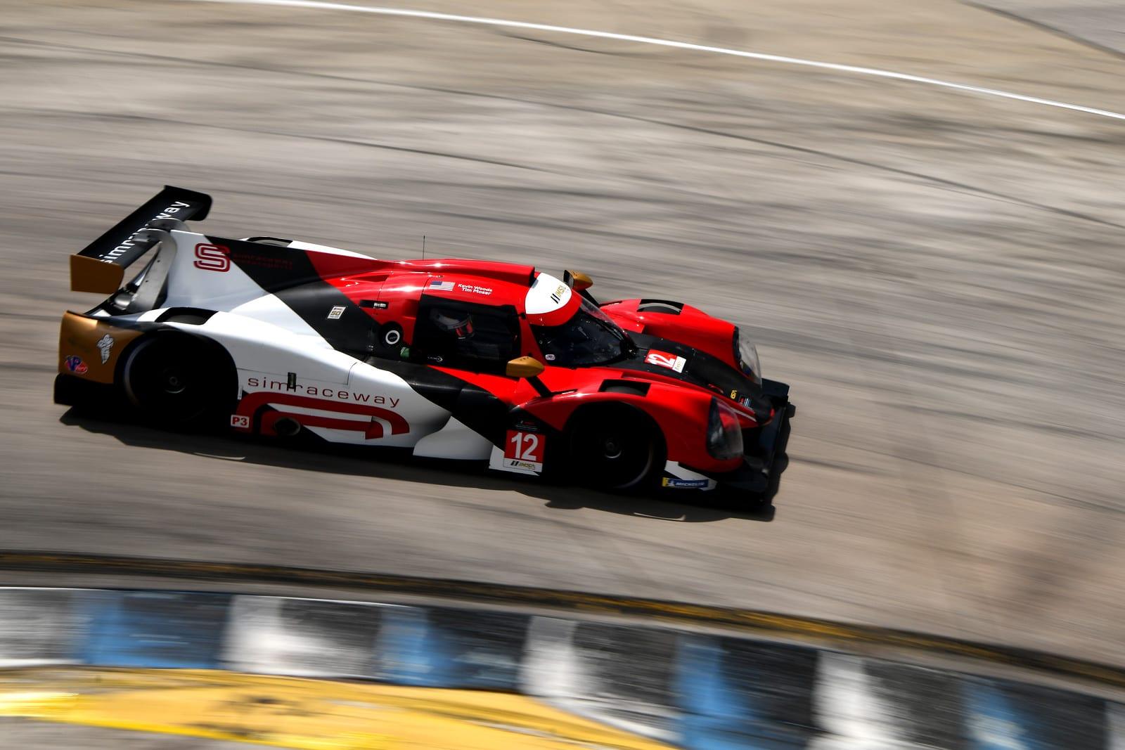 Ligier LMP3 around a corner